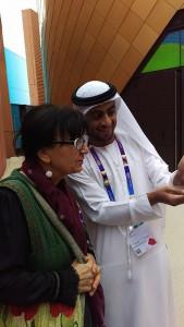 Kultúrák találkozása | Vendégségben az Arab Emirátus pavilonjában
